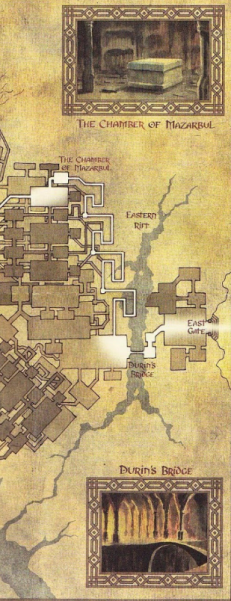 Eastern Map of Moria