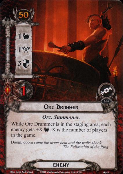 Orc-Drummer
