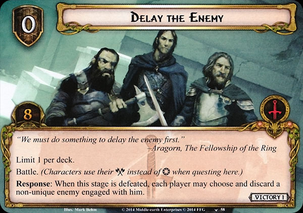 Delay-the-Enemy