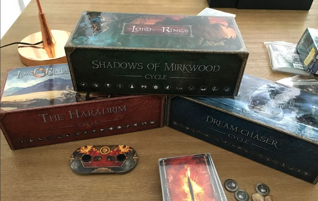 Lord Of The Rings A Shadow In The East Deck Box Dividers LOTR LCG