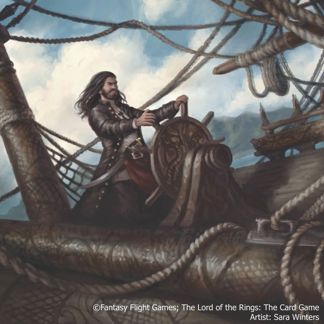 Image result for lotr lcg corsair art